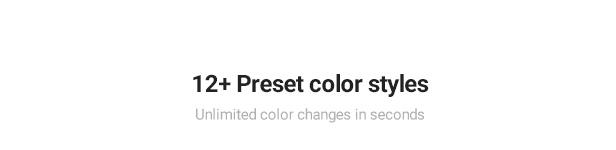Finance & Finance Business WordPres Theme - 12+ Preset color
