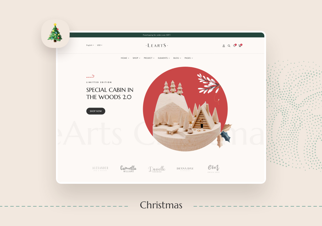 LeArts - Handmade Shop WooCommerce WordPress Theme - 5