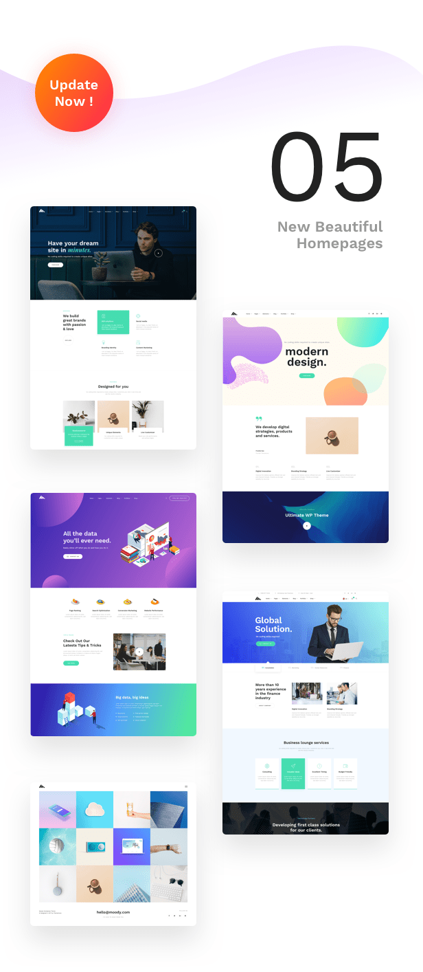 Corporate Business Agency WordPress Theme - Update Frequently More features