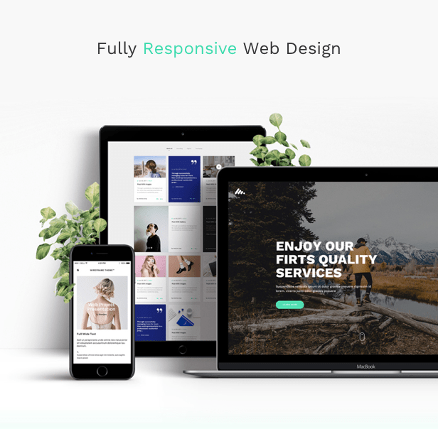 Corporate Business Agency WordPress Theme - Fully Responsive