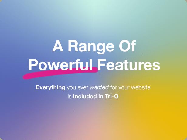 Interior Design WordPress Theme - A Range of Powerful Features