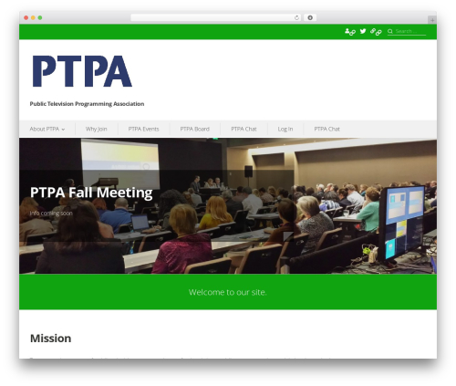 Template WordPress Prosperity - ptpa.tv