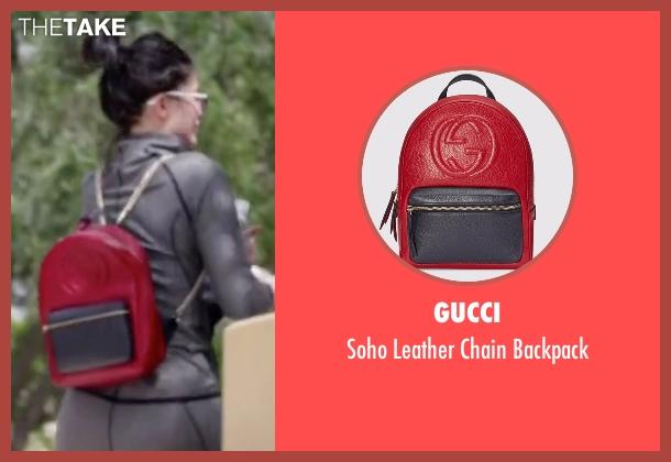 50e6e5958d8e Soho Leather Chain Backpack Gucci Womens Backpacks Free Coloring ...