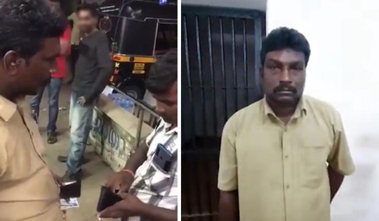 Kerala Cops Give Auto Driver Who Slapped Migrant Labourer Taste Of