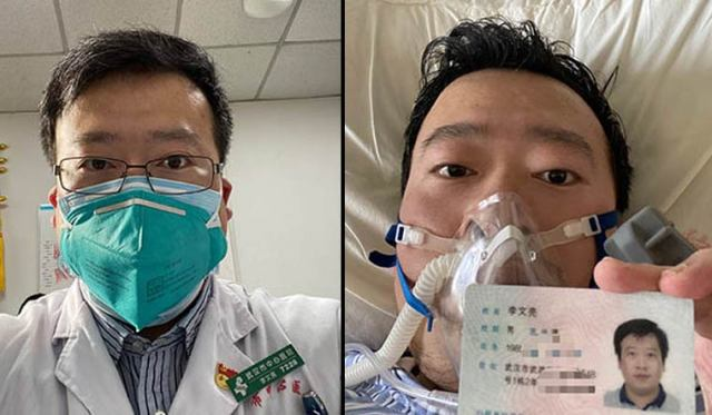 Chinese doctor who first warned about coronavirus outbreak dies ...