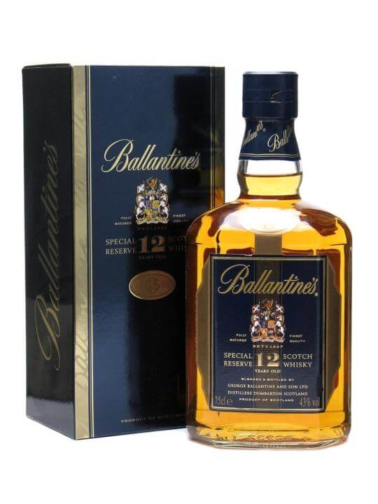 Ballantines 12 Year Old Special Reserve The Whisky