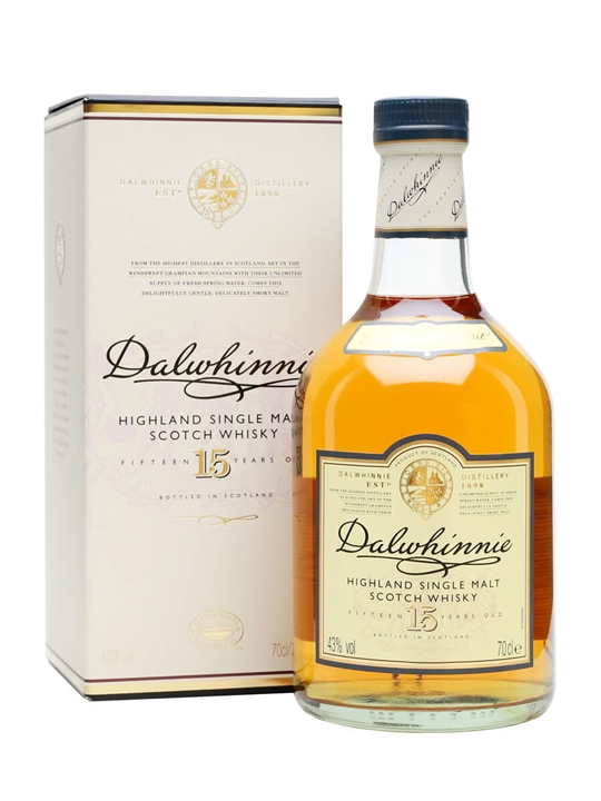 Dalwhinnie 15 Year Old Scotch Whisky The Whisky Exchange