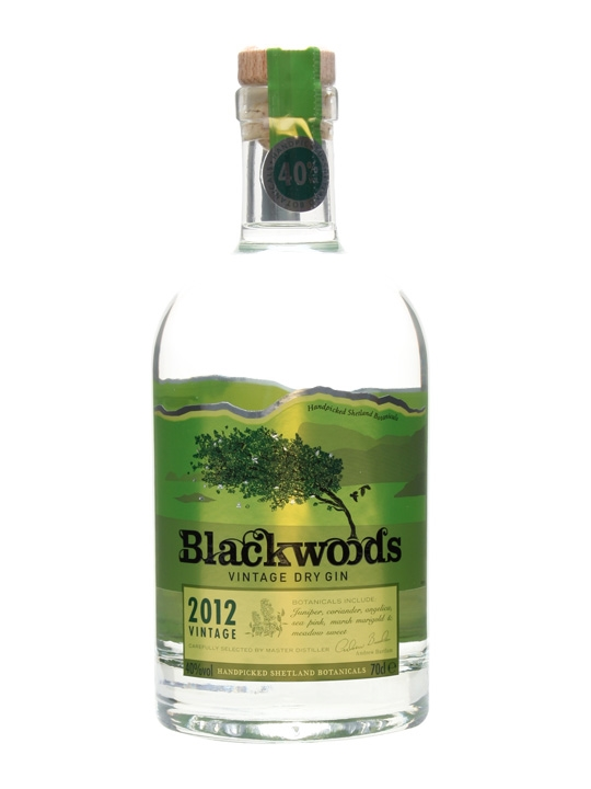 Blackwoods 2012 Vintage Dry Gin 70cl Buy From The Whisky