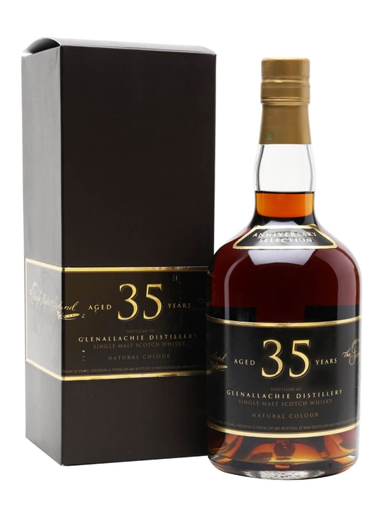 Glenallachie 35 Year Old Sherry Cask Scotch Whisky The