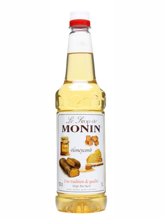 Monin Honeycomb Syrup Litre The Whisky Exchange