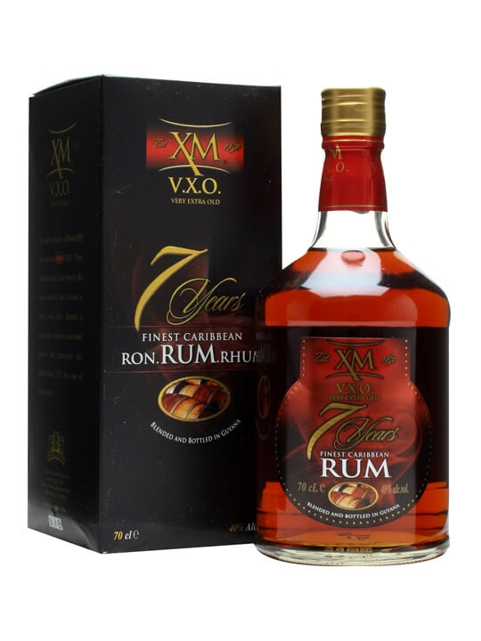 XM VXO Rum 7 Year Old The Whisky Exchange