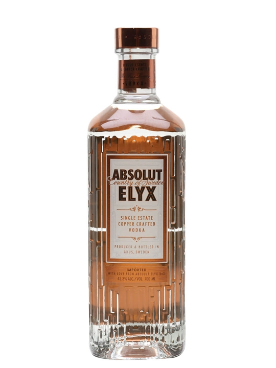 Absolut Elyx Buy From Worlds Best Drinks Shop