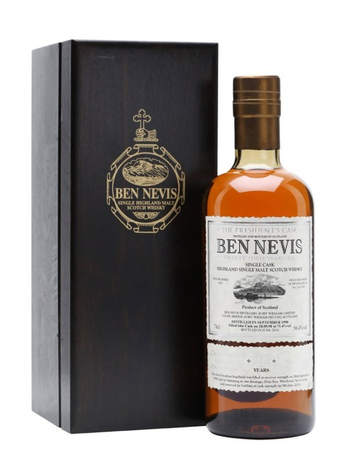 Ben Nevis 1990 / 23 Year Old / The President's Cask