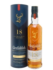 Glenfiddich 18 Year Old // 70cl / 40% // Speyside Single Malt Scotch Whisky // Distillery Bottling