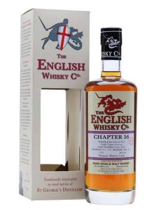 English Whisky Co. Chapter 16 / Peated / Sherry Cask