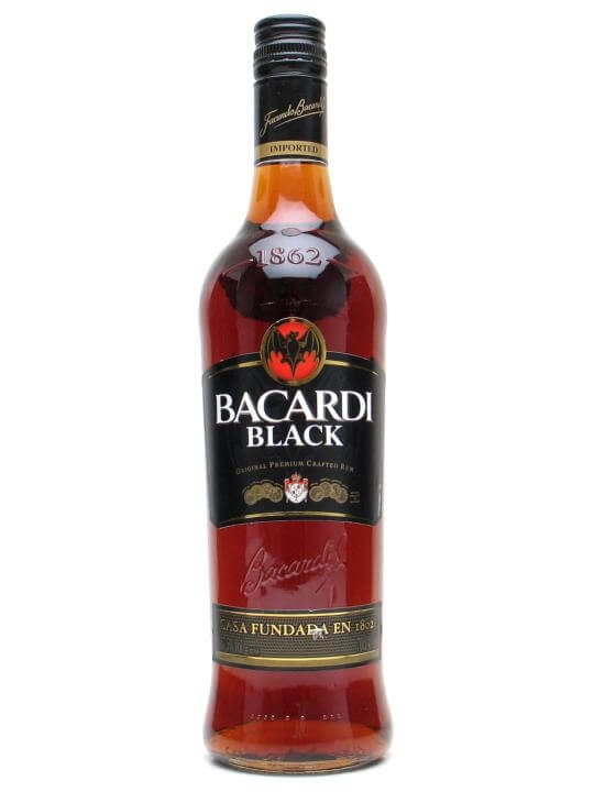 Bacardi Black Rum The Whisky Exchange