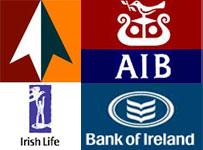 Irish bank logos