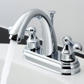 Cleaning Bathroom Fixtures   ThriftyFun A clean bathroom faucet