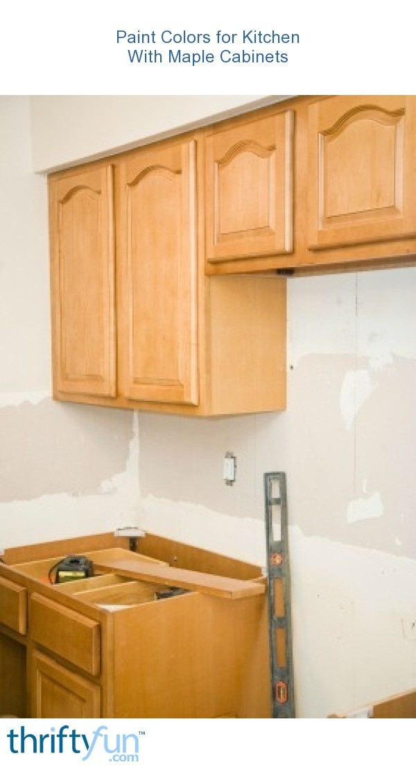 Paint Color Advice For Kitchen With Maple Cabinets