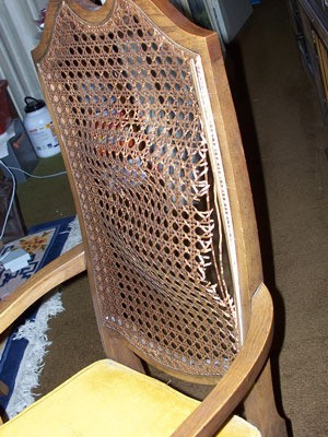 Repairing Cane Chairs ThriftyFun