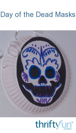 Day Of The Dead Masks ThriftyFun