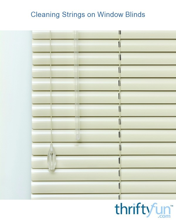 Window Blinds Cleaning Service