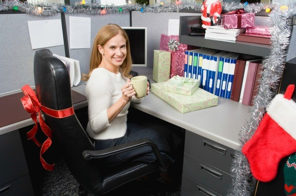 Office Christmas Decorating Ideas ThriftyFun