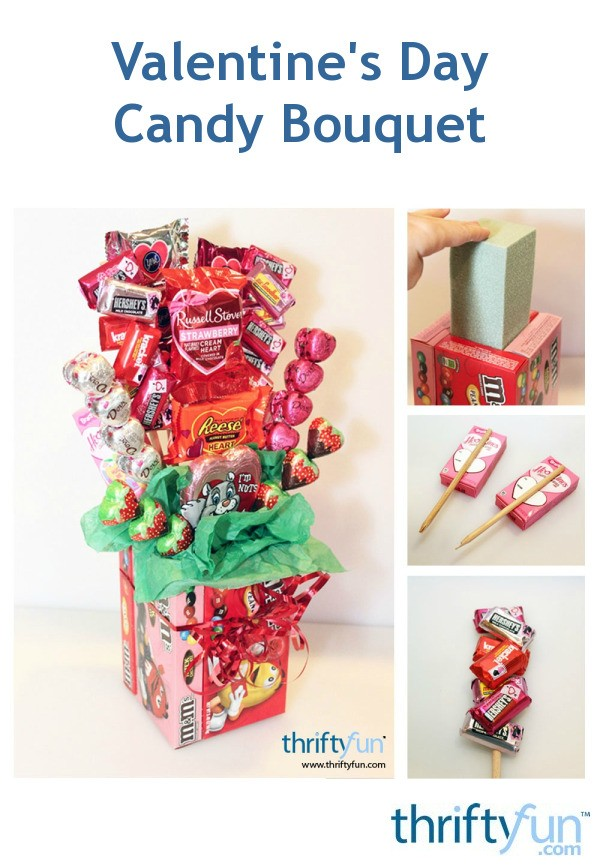 Making A Valentines Day Candy Bouquet ThriftyFun