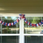 Making A 4th Of July Scrap Fabric Garland Thriftyfun