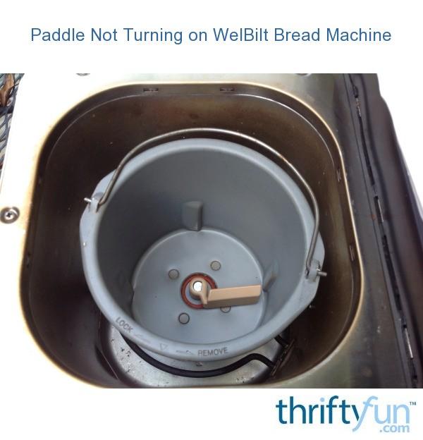 Bread Machine Welbilt Bread Machine