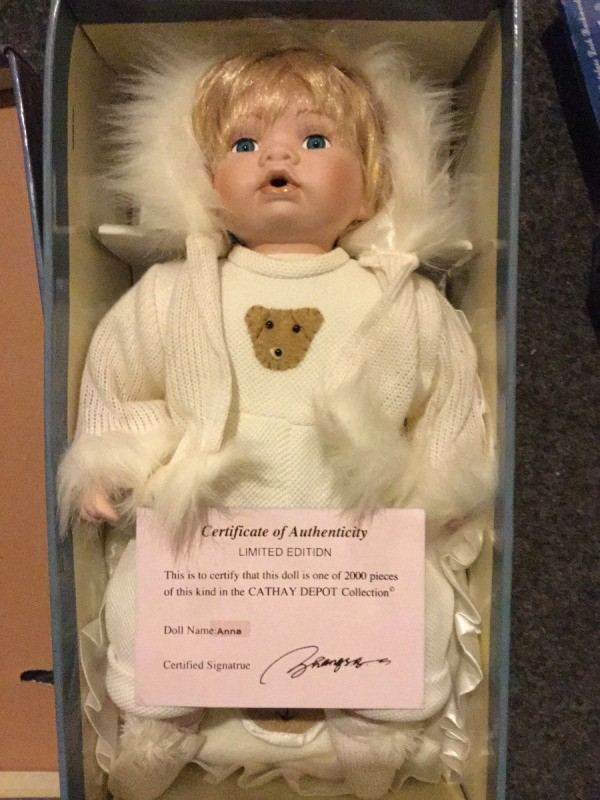 Value Of Cathay Collection Porcelain Doll ThriftyFun