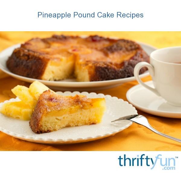 Cake Pineapple Pineapple Crushed