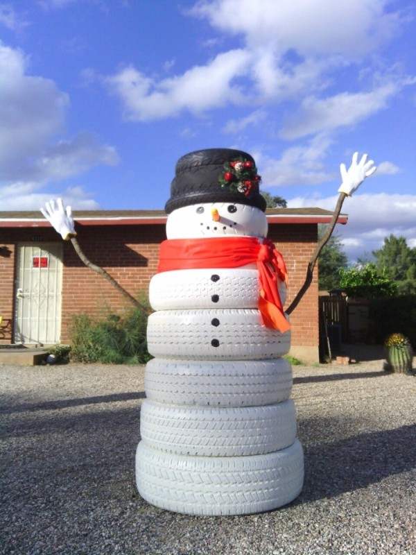 Outdoor Holiday Decorations Snowman