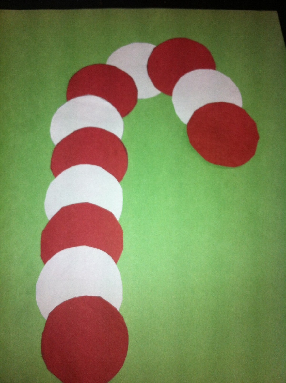 Candy Cane Shaped Crafts For Kids