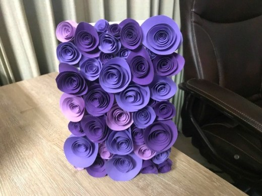 How to Make a 3D Flower Mother s Day Card   ThriftyFun 3D Flower Mother s Day Card   finished card on the vertical