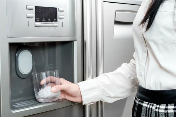 Ice Kenmore Elite Refrigerator Maker
