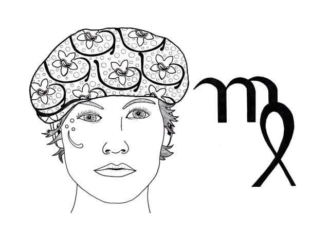 Virgo Adult Coloring Page  ThriftyFun