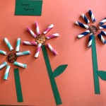 Making A Paper Straw Flower Artwork Thriftyfun
