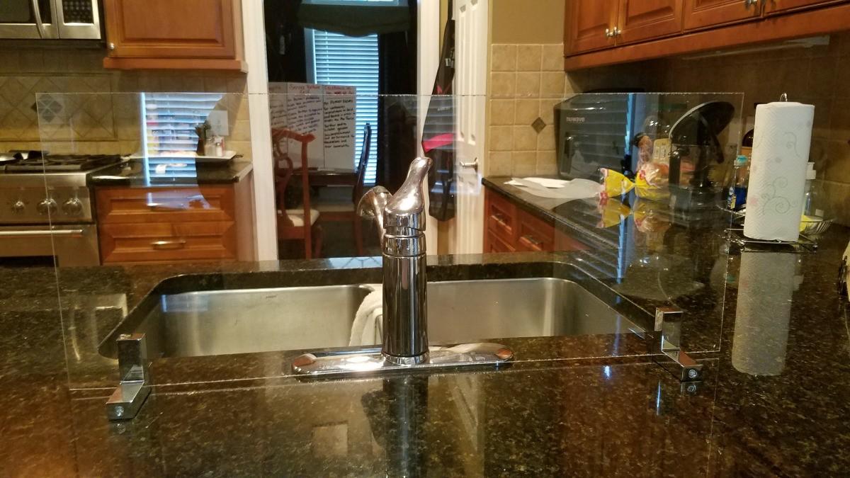 making a kitchen splash guard thriftyfun