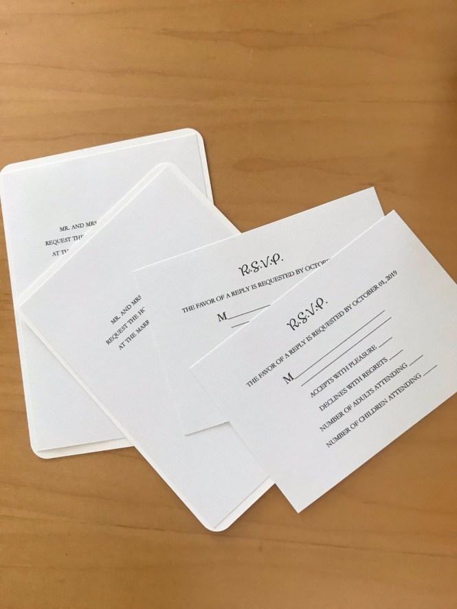Printing Wedding Invitations At Home Thriftyfun