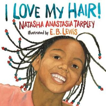 Paperback I Love My Hair! Book