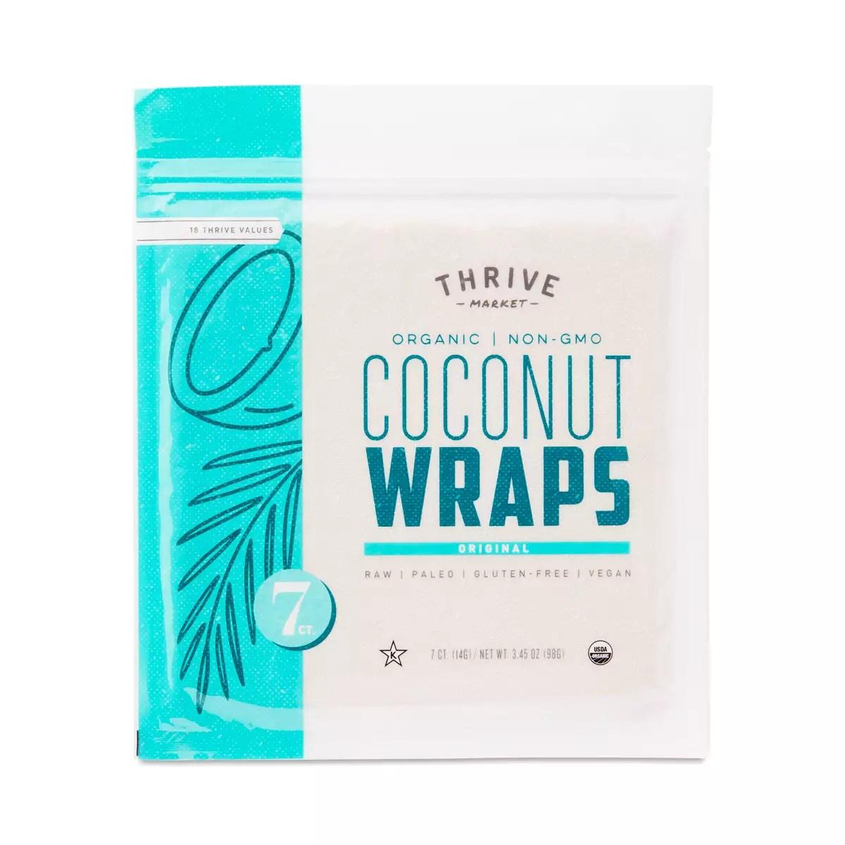 Organic Original Coconut Wraps
