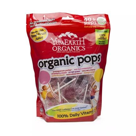 Assorted Flavor Lollipops