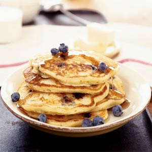Blueberry Buttermilk Pancakes from Sunset