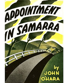 Cover for Appointment in Samara, by John O'Hara