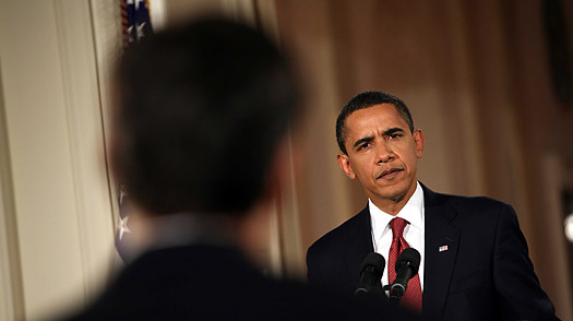 Obama and the Huffington Post Question Spark More Questions