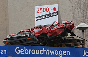 Germanys Solution to Big Autos Woes: Scrap That Clunker!