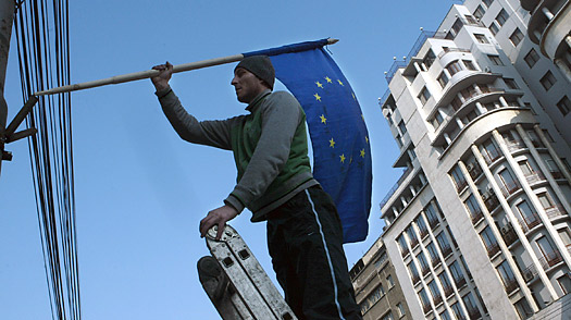 During the Downturn, Regrets About E.U. Enlargement