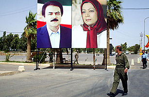 An Anti-Iranian Enclave in Iraq Fights to Stay