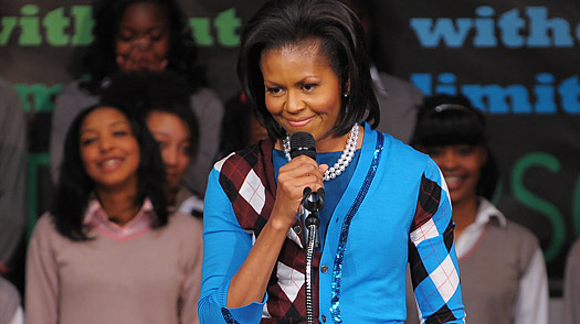 Michelle Obama Finds Her Role on the World Stage